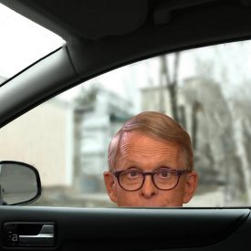 Mike DeWine Window Decal