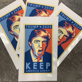 NEW!   Trump KAG Vinyl Sticker
