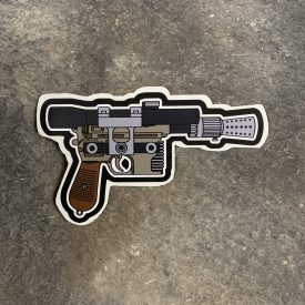 Star Wars Hans Solo Blaster Decal