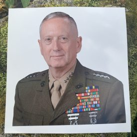 NEW!    General Mattis Fathead style decal