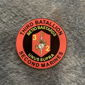 3rd Battalion 2nd Marines Betio Bastards Vehicle Vinyl Decal