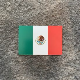 Mexican Flag Vinyl Decal
