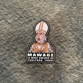 The Impressive Clergyman Mawage Vinyl Decal