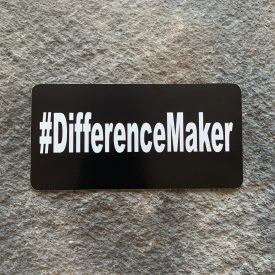 #DifferenceMaker Vinyl Decal