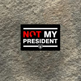 Biden Not My President Vinyl Decal