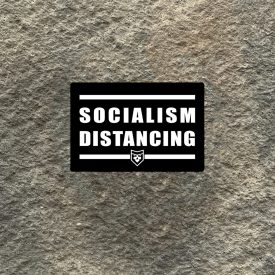 Socialism Distancing Vinyl Decal
