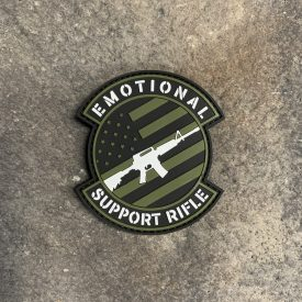 Emotional Support Rifle Vinyl Decal