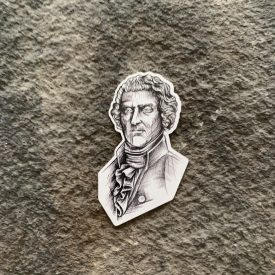 Chris Klee Patriot Series:  Thomas Jefferson Vinyl Decal