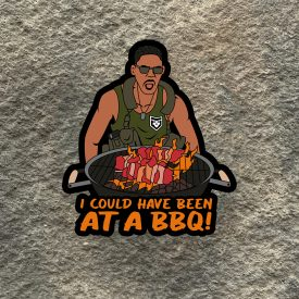 Independence Day:  I could have been at a BBQ Vinyl Decal