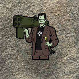 The Munsters:  Herman Munster m202a1 Vinyl Decal